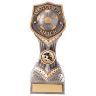 Falcon Football Man of the Match Trophy Award 190mm : New 2020