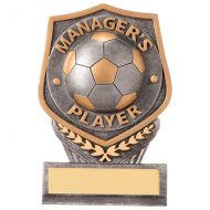 Falcon Football Managers Player Trophy Award 105mm : New 2020