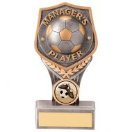 Falcon Football Managers Player Trophy Award 150mm : New 2020