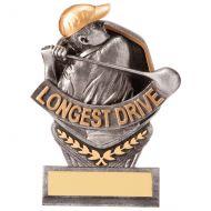 Falcon Golf Longest Drive Trophy Award 105mm : New 2020