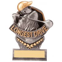 Falcon Golf Longest Drive Trophy Award 105mm : New 2020