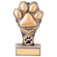 Falcon Dog Paw Trophy Award 150mm : New 2020