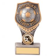 Falcon Football Manager Thank You Trophy Award 150mm : New 2020