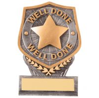 Falcon Achievement Well Done Trophy Award 105mm : New 2020