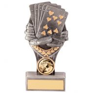 Falcon Poker Cards Trophy Award 150mm : New 2020