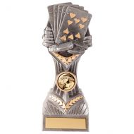 Falcon Poker Cards Trophy Award 190mm : New 2020