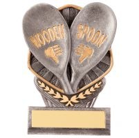 Falcon Wooden Spoon Trophy Award 105mm : New 2020