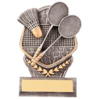 Falcon Badminton Trophy Award 105mm : New 2020