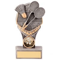 Falcon Badminton Trophy Award 150mm : New 2020
