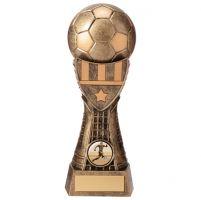 Valiant Football Heavyweight Trophy Award Classic Gold 205mm : New 2020