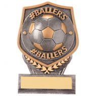 Falcon Football #Ballers Trophy Award 105mm : New 2020