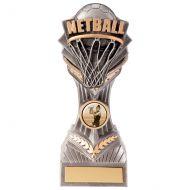 Falcon Netball Trophy Award 190mm : New 2020
