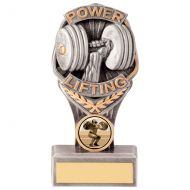 Falcon Power Lifting Trophy Award 150mm : New 2020