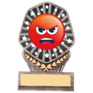 Falcon Emoji Angry Trophy Award 105mm : New 2020