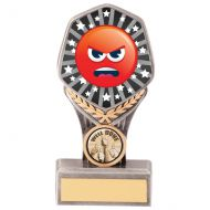 Falcon Emoji Angry Trophy Award 150mm : New 2020