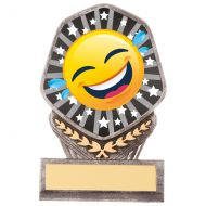 Falcon Emoji Crying Laughing Trophy Award 105mm : New 2020