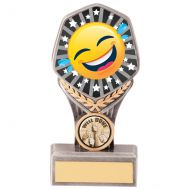 Falcon Emoji Crying Laughing Trophy Award 150mm : New 2020