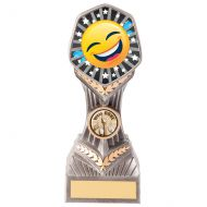 Falcon Emoji Crying Laughing Trophy Award 190mm : New 2020