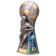 Trailblazer Male Star Player Trophy Award Antique Silver 230mm : New 2020