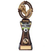 Maverick Football Well Done Trophy Award 250mm : New 2020