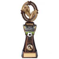 Maverick Football Manager Thanks Trophy Award 250mm : New 2020