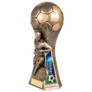 Trailblazer Male Coach Trophy Award Classic Gold 190mm : New 2020