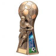 Trailblazer Male Coach Player Trophy Award Classic Gold 230mm : New 2020