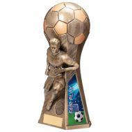 Trailblazer Male Fair Play Trophy Award Classic Gold 230mm : New 2020
