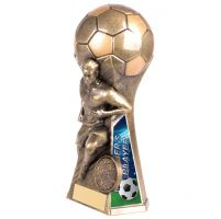 Trailblazer Male Manager Player Trophy Award Classic Gold 160mm : New 2020