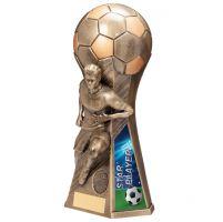 Trailblazer Male Star Player Trophy Award Classic Gold 230mm : New 2020