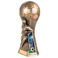 Trailblazer Girls Coach Player Trophy Award Classic Gold 190mm : New 2020