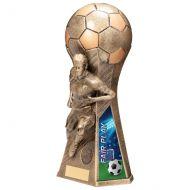 Trailblazer Girls Fair Play Trophy Award Classic Gold 265mm : New 2020