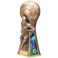 Trailblazer Girls Star Player Trophy Award Classic Gold 230mm : New 2020