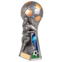 Trailblazer Girls Star Player Trophy Award Antique Silver 160mm : New 2020