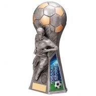 Trailblazer Girls Top Scorer Trophy Award Antique Silver 230mm : New 2020