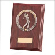 Galway Golf Nearest Pin Plaque Mahogany 150mm