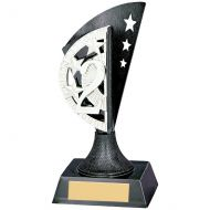 Blaze 2nd Place Plastic Plaque Gunmetal and Silver 150mm