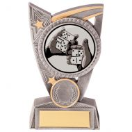 Triumph Dominoes Trophy Award 125mm : New 2020