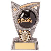 Triumph Ten Pin Bowling Trophy Award 125mm : New 2020
