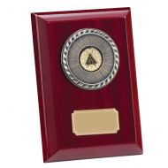 Alberta Premium Piano Finish Plaque 150mm