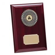 Alberta Premium Piano Finish Plaque 175mm