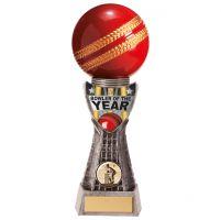 Valiant Cricket Bowler Trophy Award 255mm : New 2020