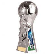 Trailblazer Male Coach Player Trophy Award Silver 160mm : New 2020