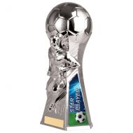 Trailblazer Male Star Player Trophy Award Silver 230mm : New 2020