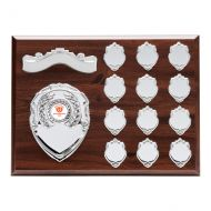 Principal Mahogany Annual Plaque Trophy Award 225x300mm