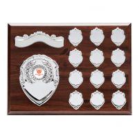 Principal Mahogany Annual Plaque Trophy Award 225x300mm