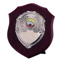 Vanquish Mahogany Shield 150mm