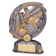 Sonic Boom Cricket Trophy Award 170mm : New 2019