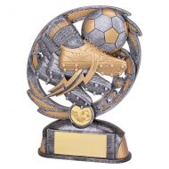 Sonic Boom Football and Boot Trophy Award 170mm : New 2019