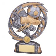 Sonic Boom Football and Boot Trophy Award 190mm : New 2019